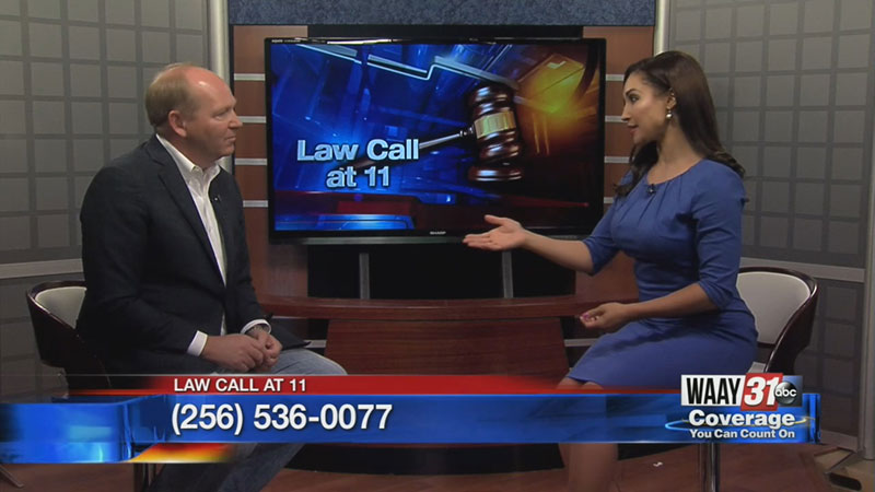 Attorney makes TV appearance on local TV station