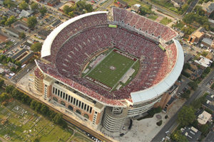 UA football field