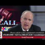 11/12/2017 – Insurance Claims – Macon, GA – LawCall – Legal Videos