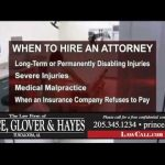 8/2/2018 – When To Hire An Attorney – Tuscaloosa, AL – LawCall – Legal Videos