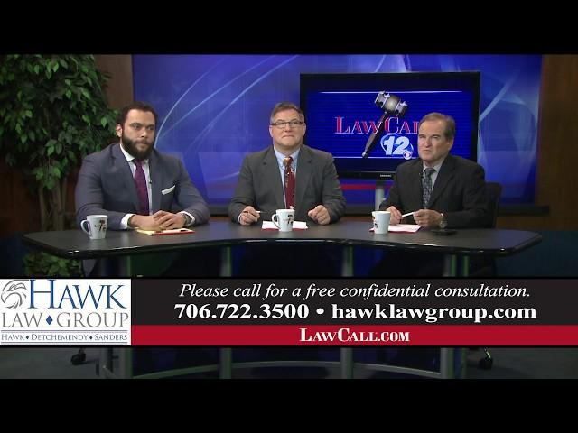 1/13/2019 – Settling An Estate – Augusta, GA – LawCall – Legal Videos