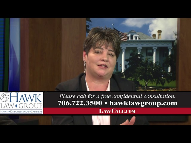 1/6/2019 – What Is A Structured Settlement? – Augusta, GA – LawCall – Legal Videos