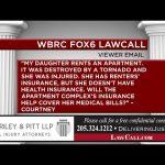3/17/2019 – Med Pay Insurance – Birmingham, AL – LawCall – Legal Videos