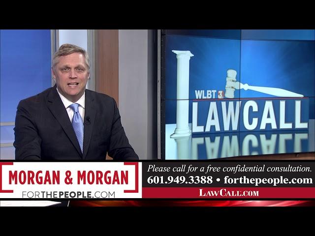 5/11/2019 – Work Injuries – Jackson, MS – LawCall – Legal Videos