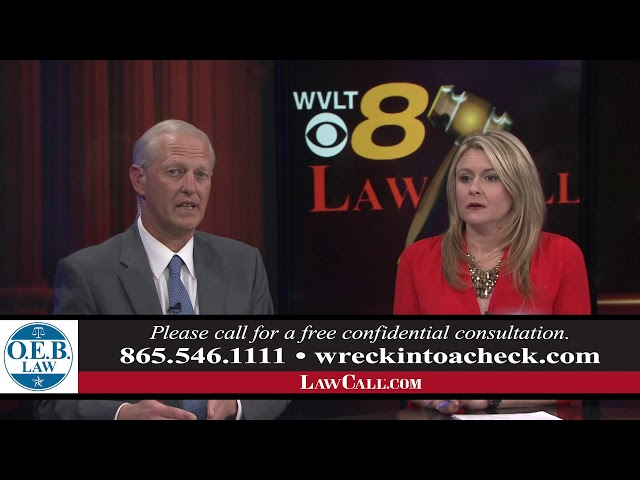 5/12/2019 – Vacation Home Insurance – Knoxville, TN – LawCall – Legal Videos