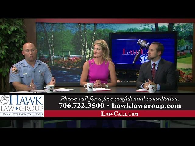 4/21/2019 – Law Enforcement Phone Use – Augusta, GA – LawCall – Legal Videos