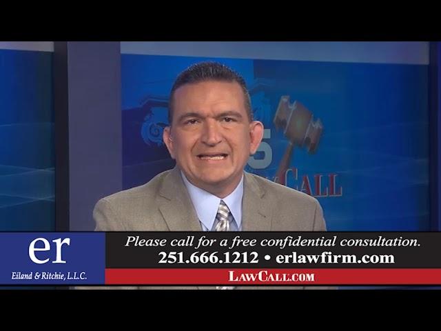 6/9/2019 – Passenger Seatbelts – Mobile, AL – LawCall – Legal Videos