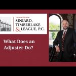 What does an adjuster do?