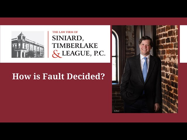 How is fault decided?